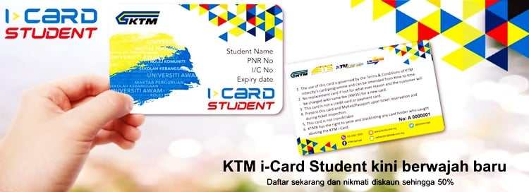 KTM i Card Student Online Terkini