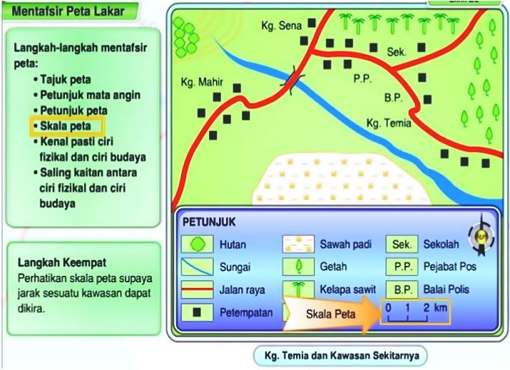 Mentafsir Peta Lakar Geografi PT3 4