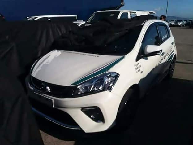 Myvi 2018 Test Drive Car