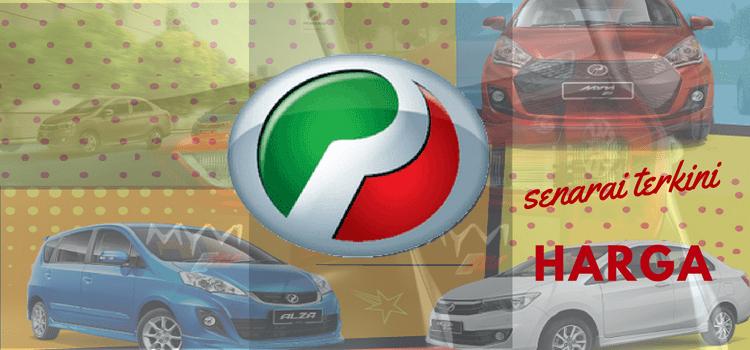 Senarai terkini harga kereta Perodua