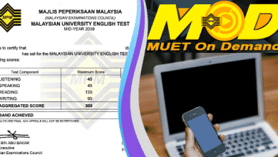 Photo of Semakan keputusan MUET On Demand 2020 Online