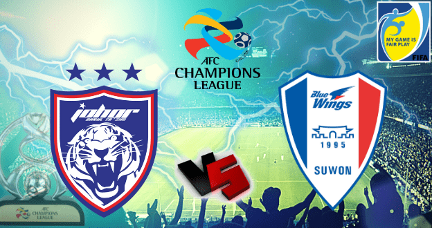 jdt vs suwon bluewings